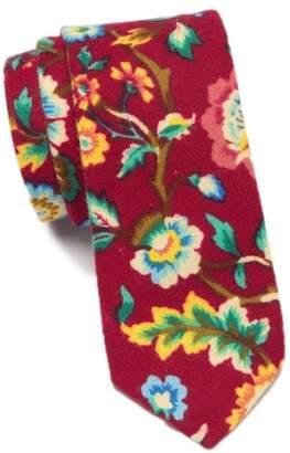 Original Penguin Gordon Paisley Skinny Tie