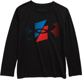 Under Armour Slashed Symbol Long Sleeve Graphic Tee