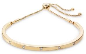 Alfani Crystal Studded Bolo Bracelet, Created for Macy's