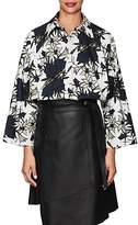 Nina Ricci Women's Floral Poplin Oversized Blouse