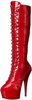 Pleaser USA Women's DEL2023/R/M Boot