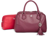 Giani Bernini 2-in-1 Pebble Leather Satchel, Only at Macy's