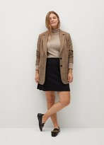 Thumbnail for your product : MANGO Button detail miniskirt