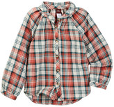 Tea Collection Eliana Flannel Button-Up Top (Toddler, Little Girls, & Big Girls)
