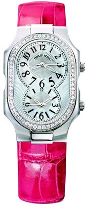 Philip Stein Teslar 2D-nfmop-apsLadies WatchAnalogue QuartzMother of Pearl Dial Pink Leather Strap