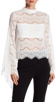 Do & Be Do + Be Long Sleeve Lace Blouse