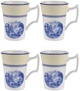 Spode Giallo Cottage Mugs (Set of 4)