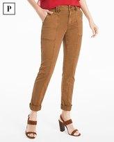 White House Black Market Petite Straight Crop Jeans