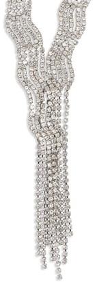 CRISTABELLE Swag Tassel Crystal Y-Necklace