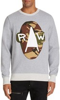 G Star Camo Graphic Sweatshirt