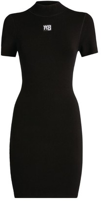 Alexander Wang Crew-Neck Bodycon Dress