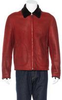 Hermes Lambskin Shearling Jacket