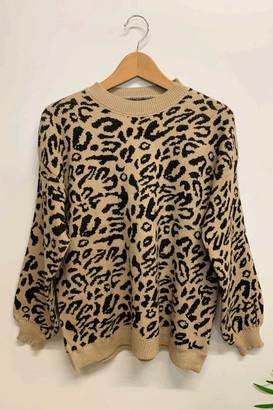 Belle-Modelle - Leopard Knit Jumper - Black