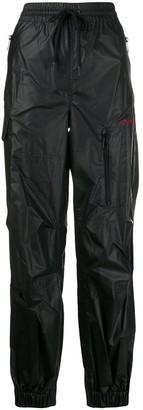 Alexander Wang leather-look track pants