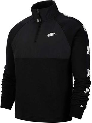Nike Sportswear Mens Hybrid Half Zip Jacket