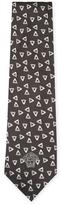 Versace Triangle Jacquard Silk Tie