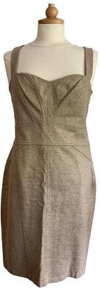 Diane von Furstenberg Gold Wool Dresses