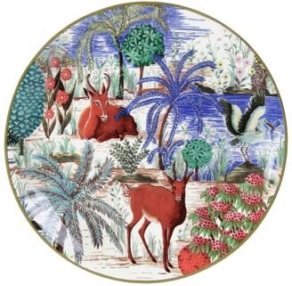 Gien Jardin Du Palais Antelope Canape Plate (17Cm)