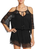Becca by Rebecca Virtue Cold Shoulder Swim Cover-Up