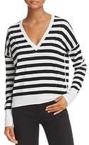 Rag & Bone Stripe V-Neck Sweater