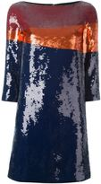 Tory Burch sequin embellished dress - women - Polyester - 8