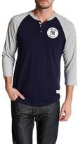 Mitchell & Ness MLB Yankees Unbeaten Henley Shirt