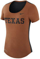 Nike Women's Texas Longhorns Dri-Blend Scoop T-Shirt