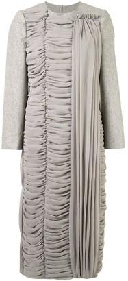 Comme des Garcons Draped Midi Dress