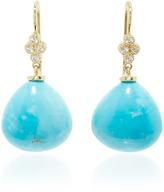 Lauren K Turquoise Shanti Briolette Earrings