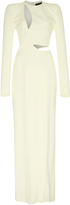Haider Ackermann Long Sleeve Cut Out Dress