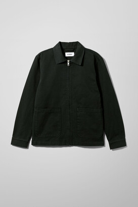 Weekday Camp Washed Jacket - Black
