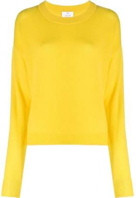 Allude crew-neck jumper