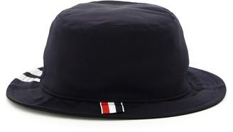 Thom Browne 4-Bar Detail Hat