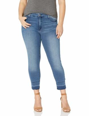 NYDJ Women's Plus Size Alina Ankle with Wide Release Hem