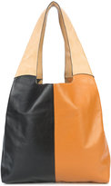Hayward contrast grand shopper tote - women - Calf Leather/Calf Suede - One Size