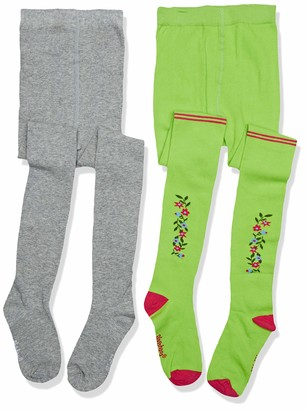 Playshoes Baby Girls' Unifarben Und Landhaus Mit Komfortbund Tights