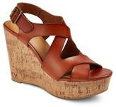 Mossimo Women's Megan Wide Width Quarter Strap Sandals