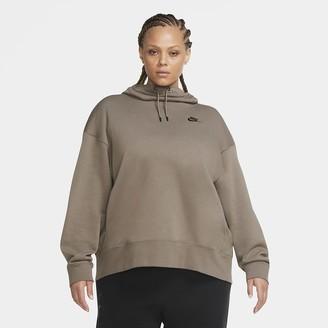 Nike Women's Fleece Hoodie (Plus Size Sportswear