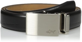 Greg Norman Men's Standard Optimum Comfort Fit Adjustable Ratchet Belt