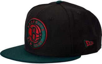 New Era Brooklyn Nets NBA Team 9FIFTY Snapback Hat
