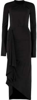 Taverniti So Ben Unravel Project Draped Asymmetric Dress