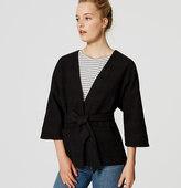 LOFT Belted Kimono Jacket
