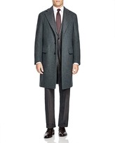 Canali Mélange Topcoat