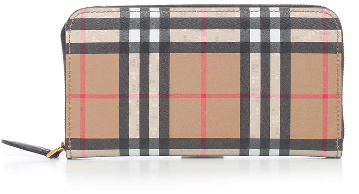 Burberry Elmore Zip-around Wallet