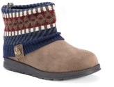 Muk Luks Women's Paola Knit Sweater Ankle Boots