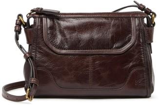Frye Mel Leather Crossbody Bag