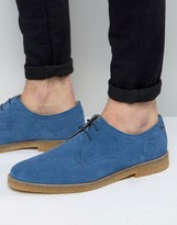 Base London Whitlock Suede Derby Shoes