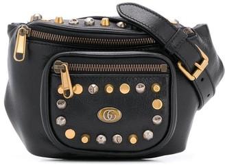 Gucci studded belt bag