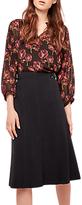 Gerard Darel A-Line Skirt, Black