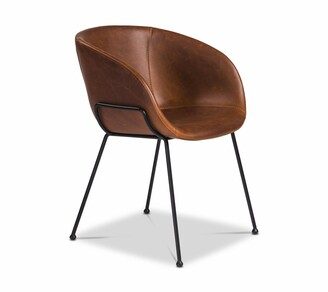 Apt2B Chavez Side Chair DARK BROWN - SET OF 2